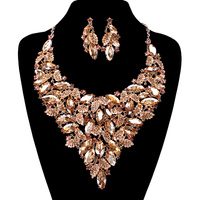GAB STONE NECKLACE SET